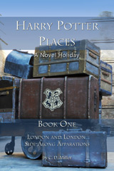 Harry Potter Places Travel Guidebooks Book Cover