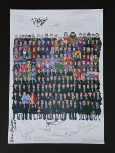70427 Autographed Crew Gift Poster 1