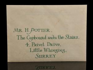 71698 Harry Potter Daniel Radcliffe Hogwarts Acceptance Letter 1