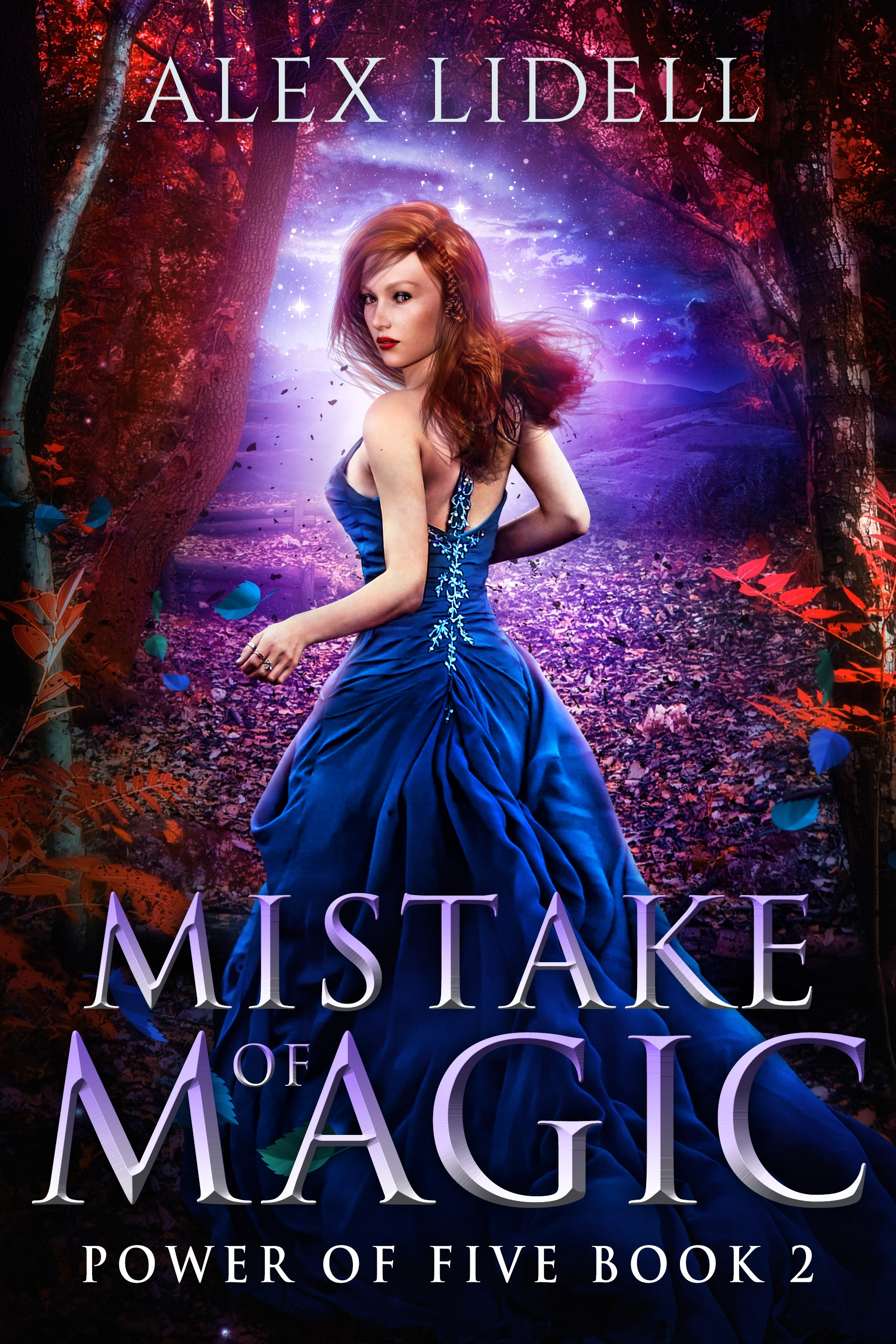 MISTAKE OF MAGIC (Power Of Five #2) Book Cover