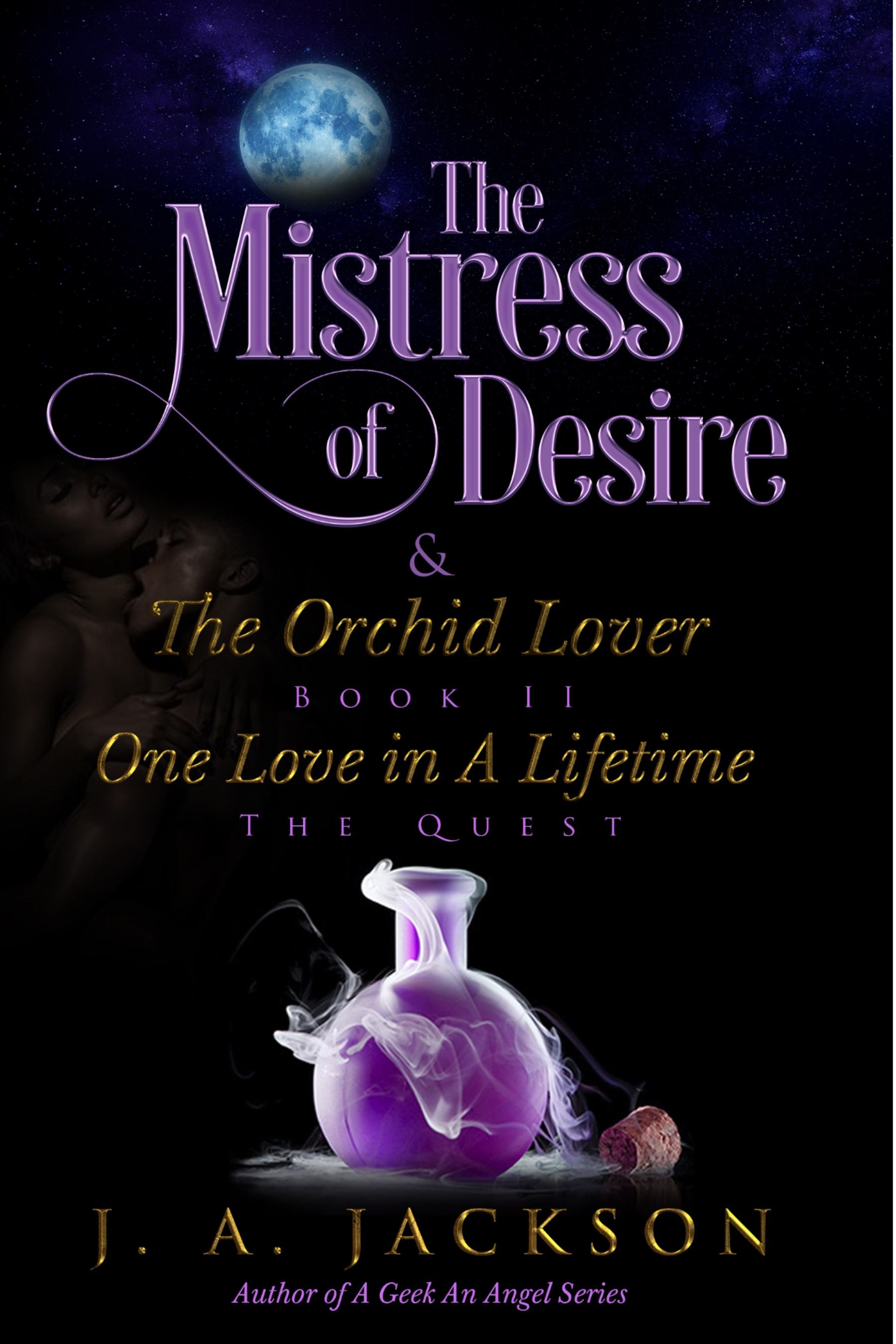 THE MISTRESS OF DESIRE & THE ORCHID LOVER: THE QUEST Book Cover