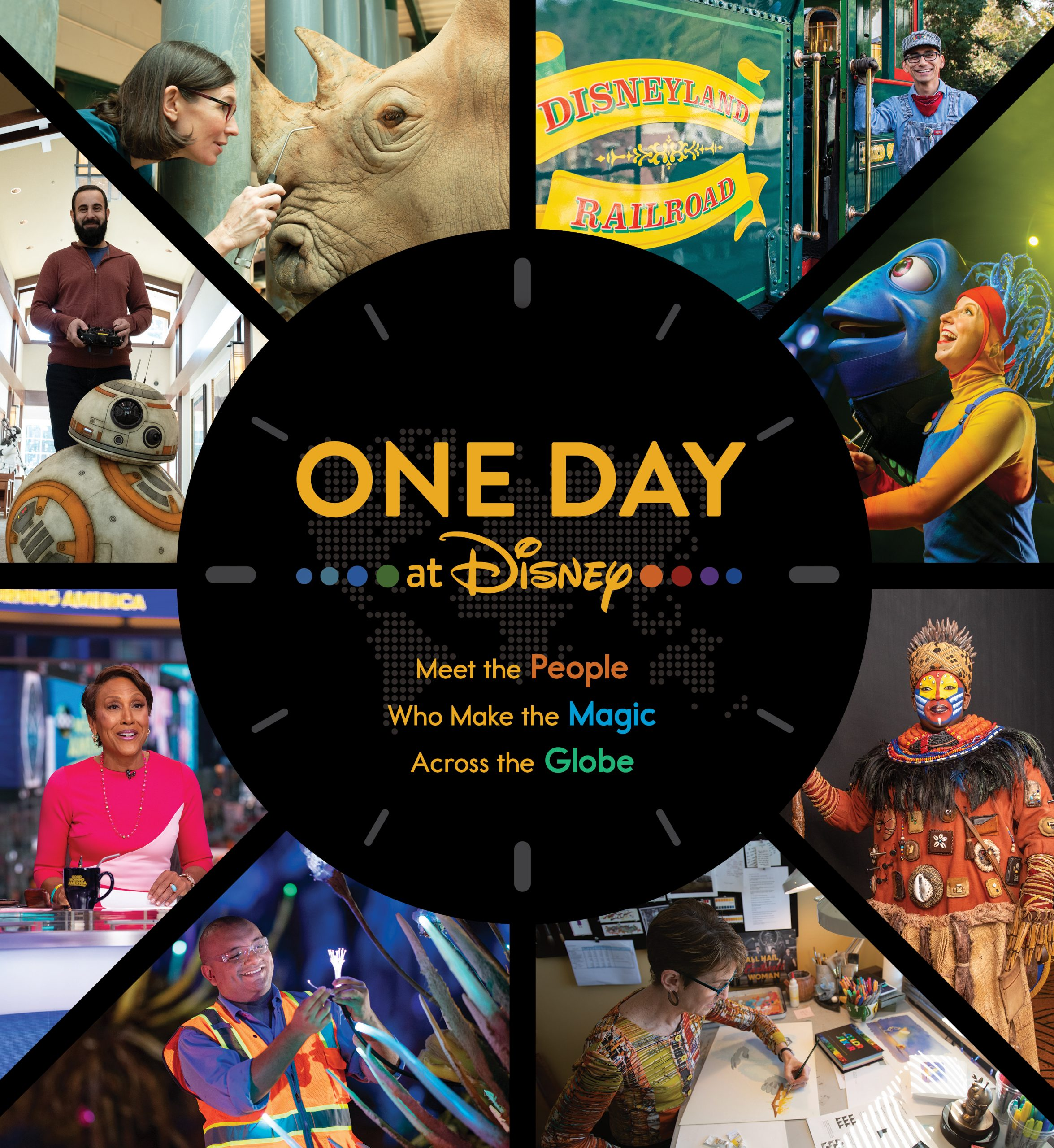 ONE DAY AT DISNEY Book Cover
