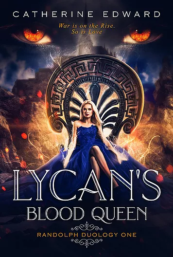 LYCAN'S BLOOD QUEEN (Randolph Duology #1) Book Cover