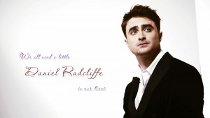 We all need a little Daniel Radcliffe in our lives