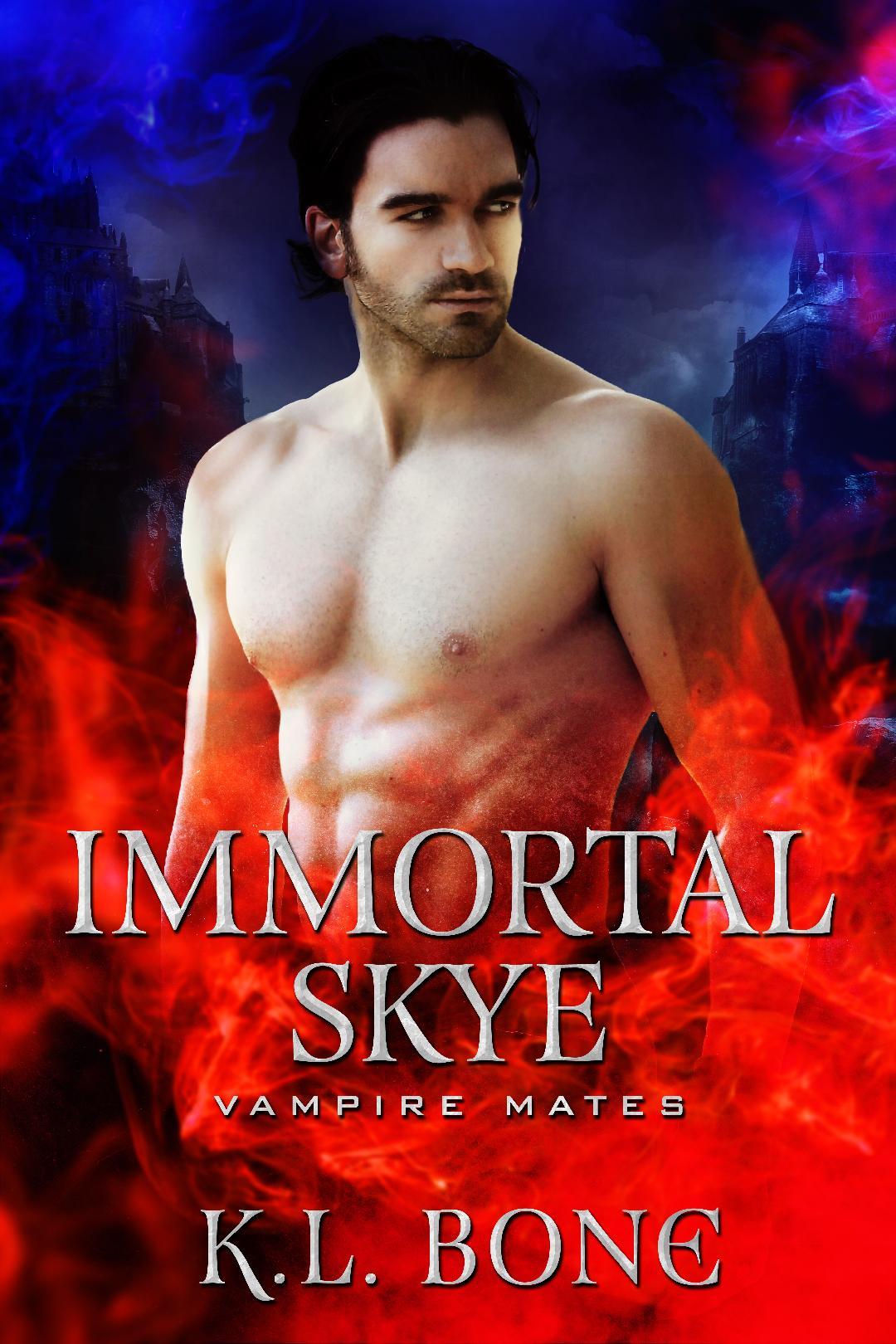 IMMORTAL SKYE (A Vampire Mates Novella) Book Cover